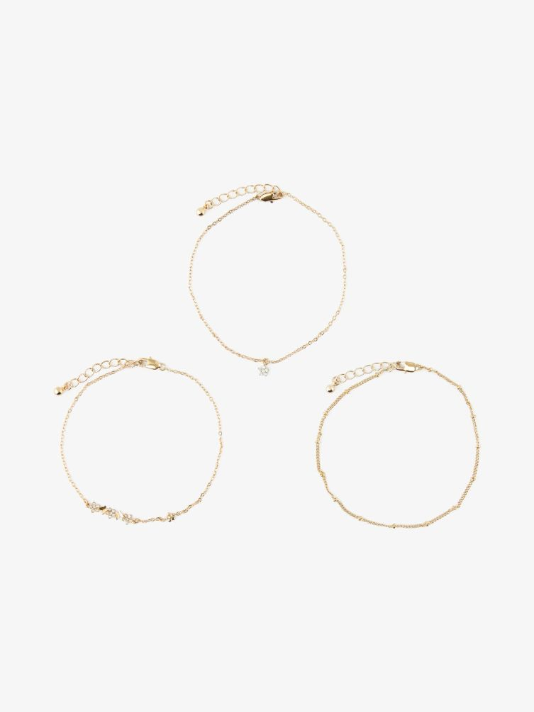 Timba 3-pack ancle chain