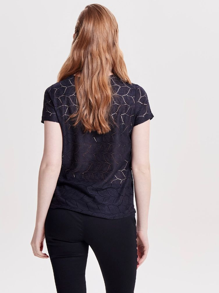 Tag lace top