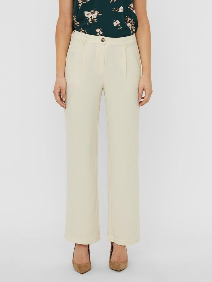 puce crop flared pant