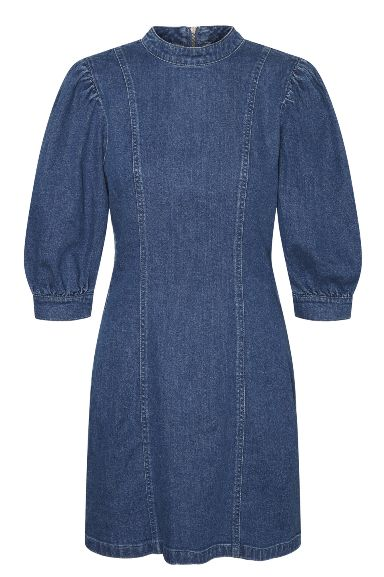 Hacel short denim dress