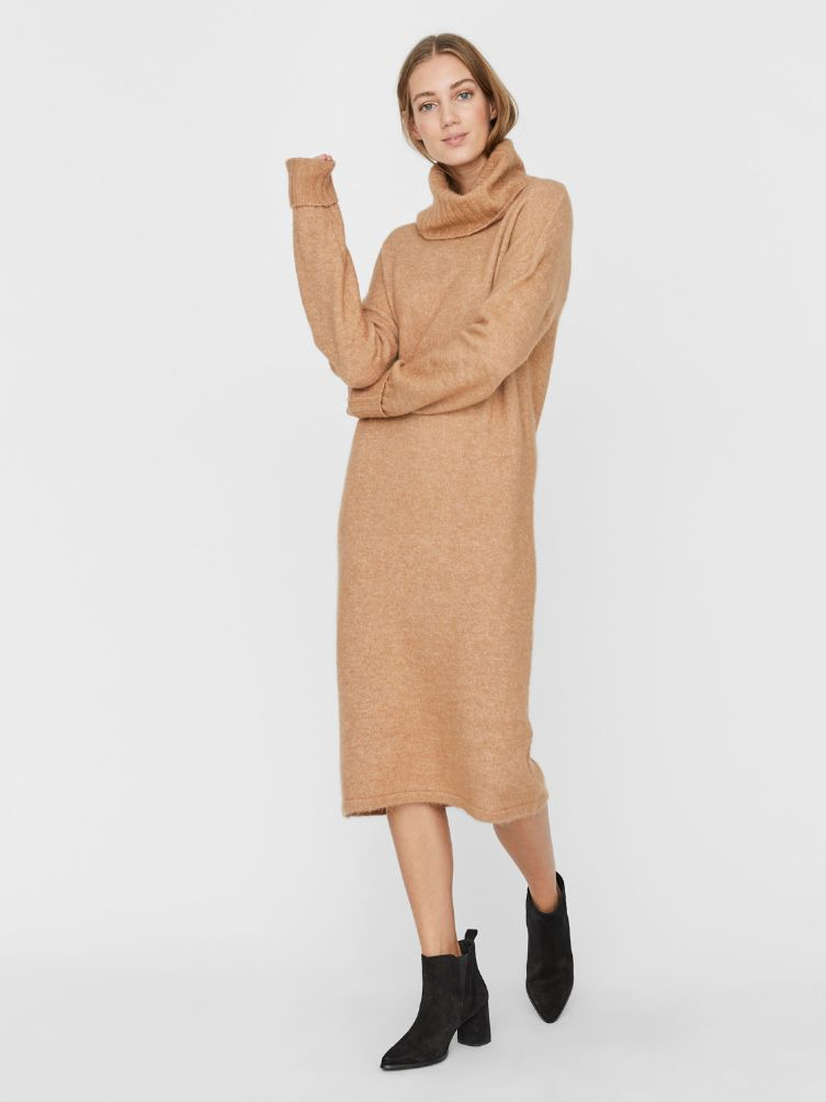 Gaiva cowl neck dress